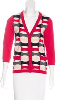 Kate Spade Wool Patterned Cardigan