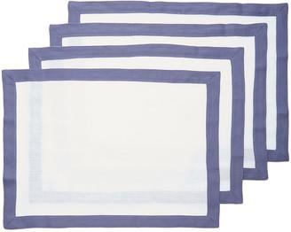 Moda Domus Set-Of-Four Linen Placemats