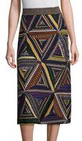 Missoni Triangle Patchwork Skirt