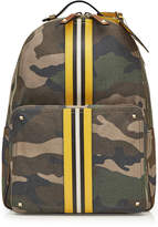 Valentino Rockstud Canvas and Leather Backpack