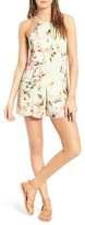Privacy Please Women's Lucca Floral Print Romper