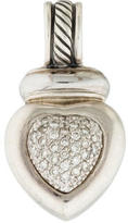 David Yurman Diamond Heart Enhancer