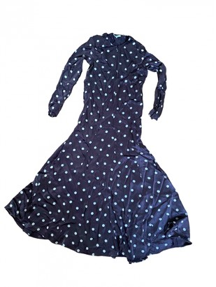 Ganni Spring Summer 2020 Brown Viscose Dresses