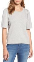Velvet by Graham & Spencer Women's Puff Sleeve Sweatshirt