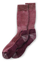 Classic Men's Merino Wool Snow Pack Boot Socks-Brown