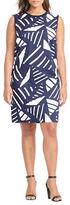 Lauren Ralph Lauren Plus Printed-Front Sweater Dress