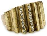 "Paige Novick Jackson Hole"" Sculpted Gold-Tone Ring, Size 6"