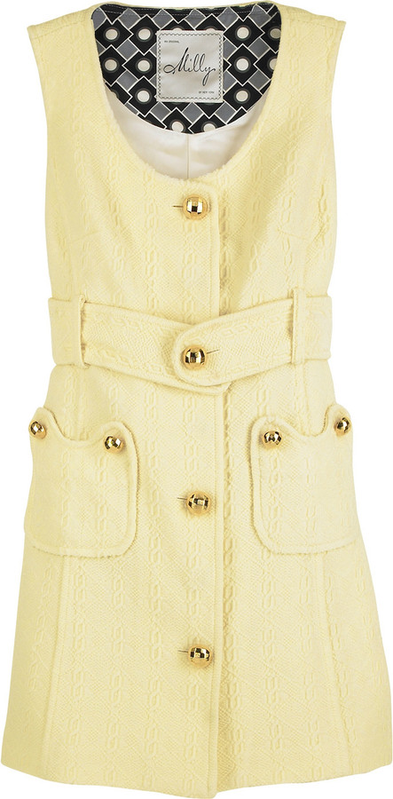 Milly Gold button dress