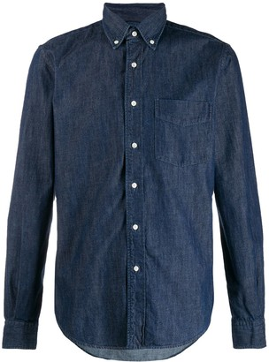 Aspesi Long Sleeved Denim Shirt