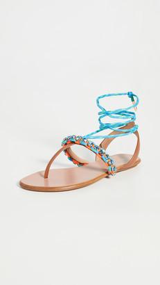 Aquazzura Surf Sandal Flats