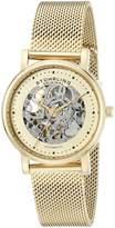 Stuhrling Original Women's 832L.03 Castorra Analog Display Automatic Self Wind Watch