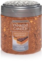 Yankee Candle Salted Caramel Fragrance Spheres Odor Neutralizing Beads 6 Oz