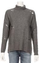 Autumn Cashmere Distressed Turtle Neck Sweater