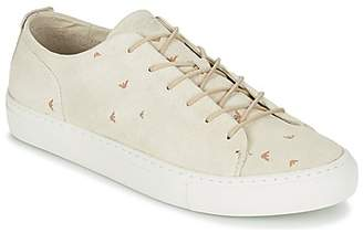 Armani Jeans ASORITA men's Shoes (Trainers) in Beige