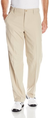 Izod Men's Flat Front Slim Fit Basic Microtwill Golf Pant