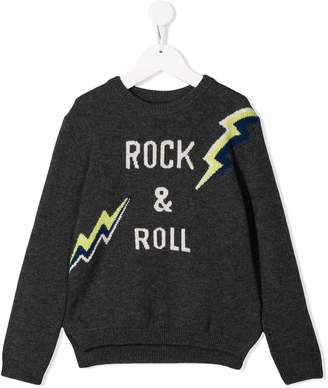 Zadig & Voltaire Kids 'Rock & Roll' jumper