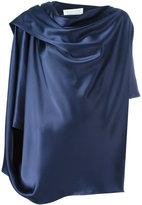 Gianluca Capannolo draped blouse - women - Polyester/Triacetate - 44