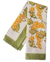 "Couleur Nature Grapevines Tea Towels (Set of 3), 20 by 30"", Yellow/Green"