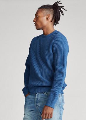 Ralph Lauren Wool Raglan Crewneck Sweater