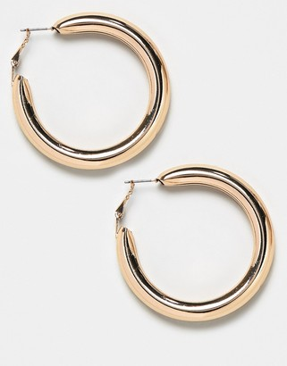 Weekday Thick Hoop Earrings
