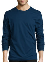 ST. JOHN'S BAY St. John's Bay Long-Sleeve Crewneck T-Shirt