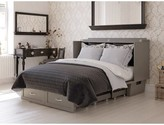 Greeson Queen Storage Murphy Bed with Mattress Red Barrel Studio Color: Atlantic Gray