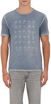 John Varvatos Men's Skull-Graphic T-Shirt-BLUE