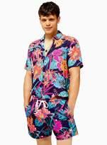 TopmanTopman Bright Floral Print Swim Shorts