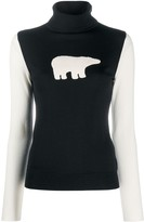 Thumbnail for your product : Perfect Moment Polar Bear Turtleneck Jumper
