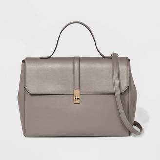 A New Day Structured Top Handle Work Tote Handbag