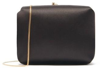 Jil Sander Chain-strap Satin Cross-body Bag - Black
