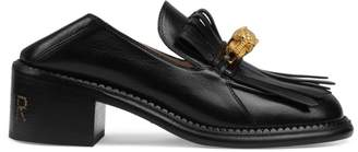 Gucci Dionysus Tiger Head Leather Loafers