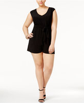 Love Squared Plus Size V-Neck Romper