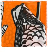 Stella McCartney fishes print scarf