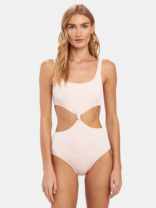 Solid & Striped The Bailey Rib Cutout One Piece
