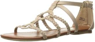 Report Women's Gustava Flat Sandal Taupe 6.5 M US