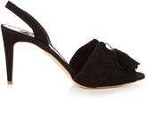 Rupert Sanderson Gladys slingback suede sandals