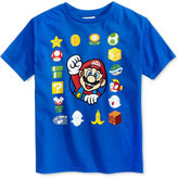 Nintendo Super Mario Graphic-Print Cotton T-Shirt, Toddler & Little Boys (2T-7)