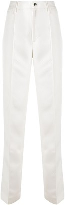 Rotate by Birger Christensen Pleat Detail High-Waisted Trousers