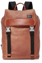 Jack Spade Mason Leather Army Backpack