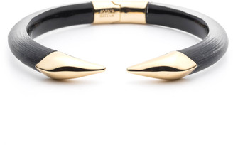Alexis Bittar Mirrored Pyramid Break Hinge Bracelet
