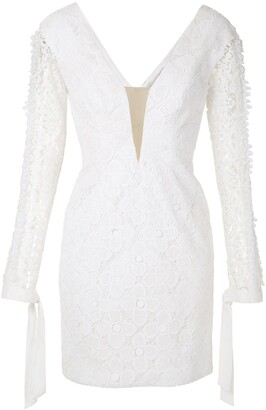 Martha Medeiros Alicia lace dress