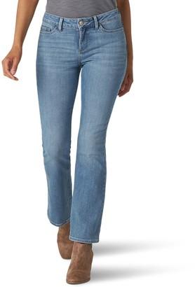 Lee Women's Secretly Shapes Bootcut Jeans