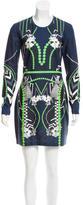 Emma Cook Digital Print Jersey Dress w/ Tags