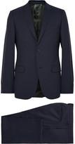 Gucci Navy Monaco Slim-fit Wool Suit