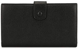 Chanel Pre Owned CC elongated bi-fold wallet