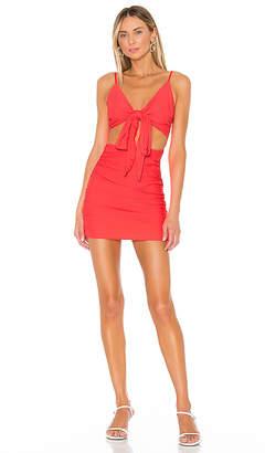 superdown Jenna Twist Front Dress