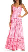 Lilly Pulitzer R) Lily Pulitzer(R) Kyla Embroidered Eyelet Sleeveless Maxi Dress