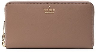 Kate Spade Lacey Leather Zip-Around Wallet