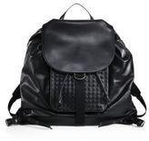 Bottega Veneta Leather Drawstring Backpack